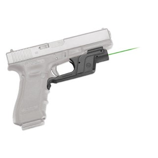 Crimson Trace Green Laserguard for Glock Full Size and Compact Models