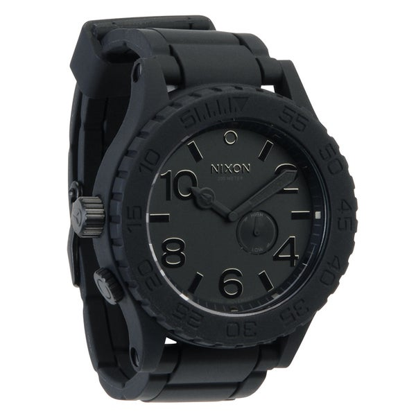 Nixon Men's Black Rubber 51-30 Watch