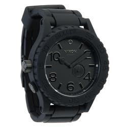 Nixon Men's Black Rubber 51-30 Watch|https://ak1.ostkcdn.com/images/products/7293036/Nixon-Mens-Black-Rubber-51-30-Watch-P14766677.jpg?impolicy=medium