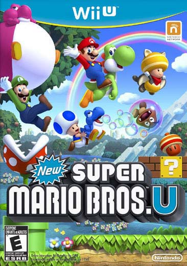 Wii U - New Super Mario Bros U