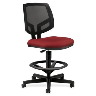 HON Volt Series Crimson Mesh Back Adjustable Task Stool