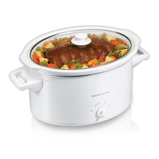 Hamilton Beach White 8 Quart Slow Cooker