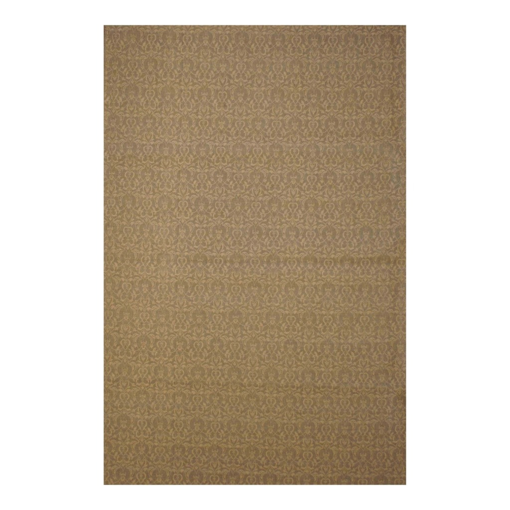 Herat Oriental Indo Traditional Hand-tufted Flat Weave Beige/ Ivory Kilim Wool Rug (5'6 x 8')