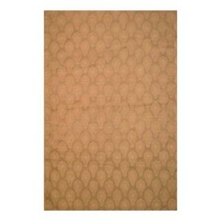 Herat Oriental Indo Hand-tufted Flat-Weave Kilim Wool Rug (5'6 x 8')