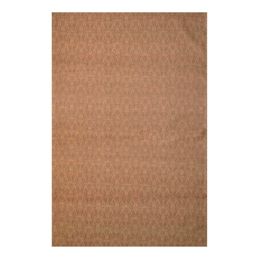 Herat Oriental Indo Flat-Weave Hand-tufted Kilim Wool Rug (5'6 x 8')