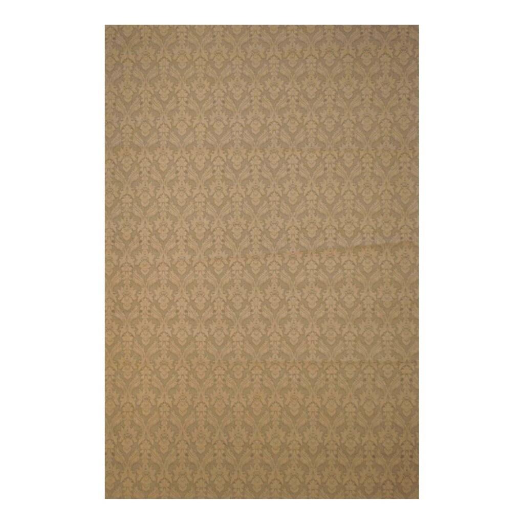 Herat Oriental Indo Hand-tufted Kilim Flat Weave Wool Rug (5'6 x 8')