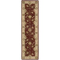 Nourison 3000 Hand-tufted Red Wool Rug Runner - 2'3 x 8'