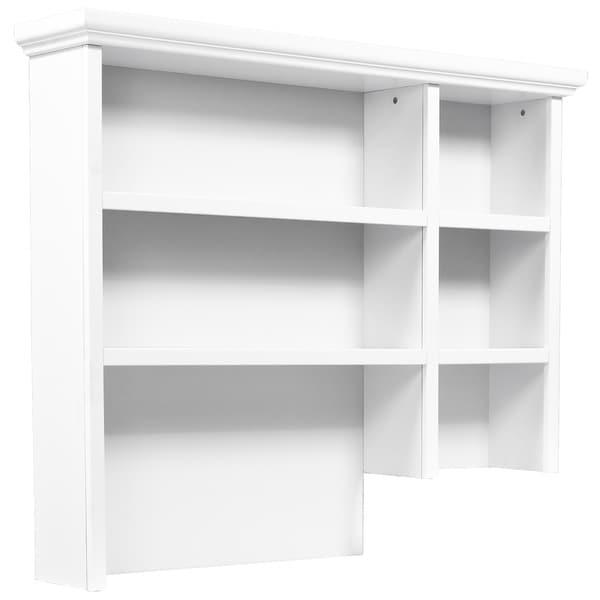 Davinci White Hutch For Combo Dresser M4759 Or M5599 Free Shipping