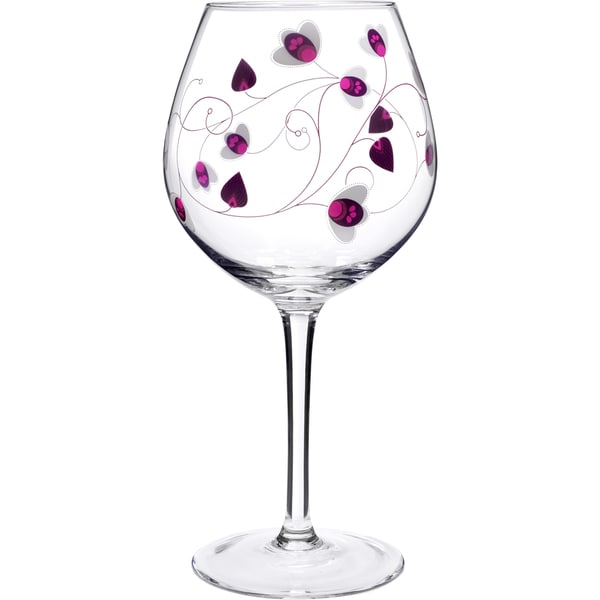 Social Ave by Luigi Bormioli Purple UR Vino 22.25-ounce Red Wine Glasses (Set of 2)