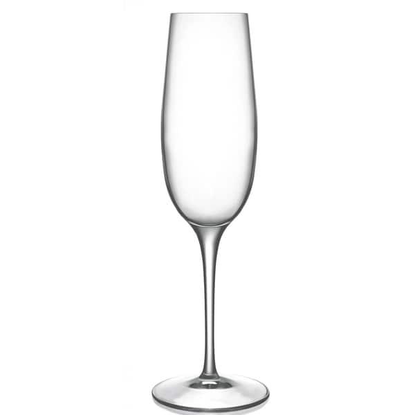 Luigi Bormioli Allegro 8-ounce Champagne Flutes (Set of 4)