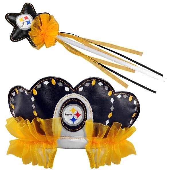 Bleacher Creatures Pittsburgh Steelers Tiara Wand Set