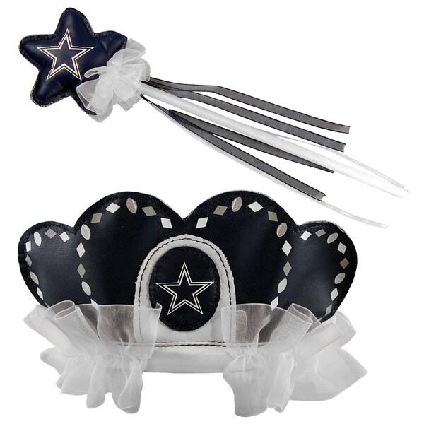 Bleacher Creatures Dallas Cowboys Tiara Wand Set