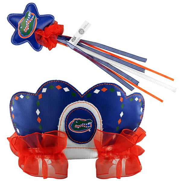 Bleacher Creatures Florida Gators Tiara Wand Set