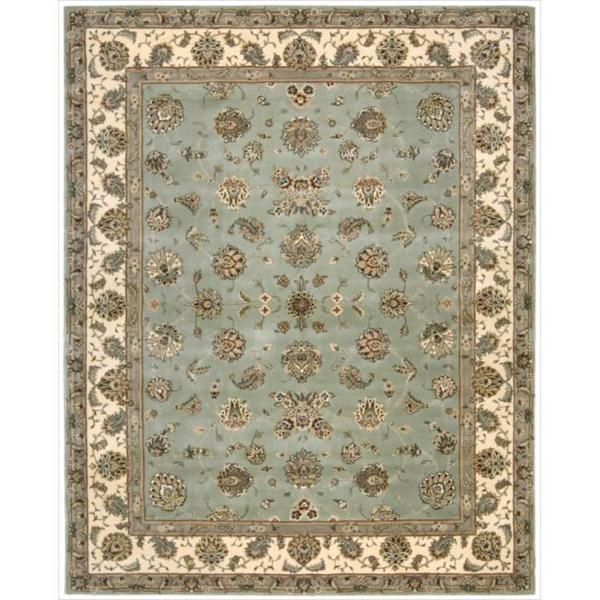 Nourison 2000 Hand-tufted Light Green Wool Rug