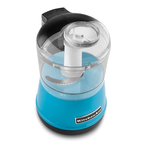 KitchenAid KFC3511CL Crystal Blue 3.5-cup Food Chopper