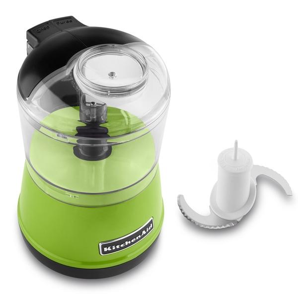 Green Kitchenaid Food Processor: Shop KitchenAid KFC3511GA Green Apple 3.5-cup Food Chopper
