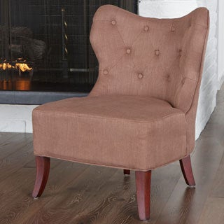 Christopher Knight Home Genevieve Bronze Fabric Accent Chair