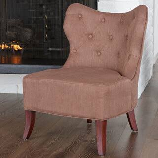 Christopher Knight Home Genevieve Bronze Fabric Accent Chair|https://ak1.ostkcdn.com/images/products/7294873/P14768159.jpg?impolicy=medium