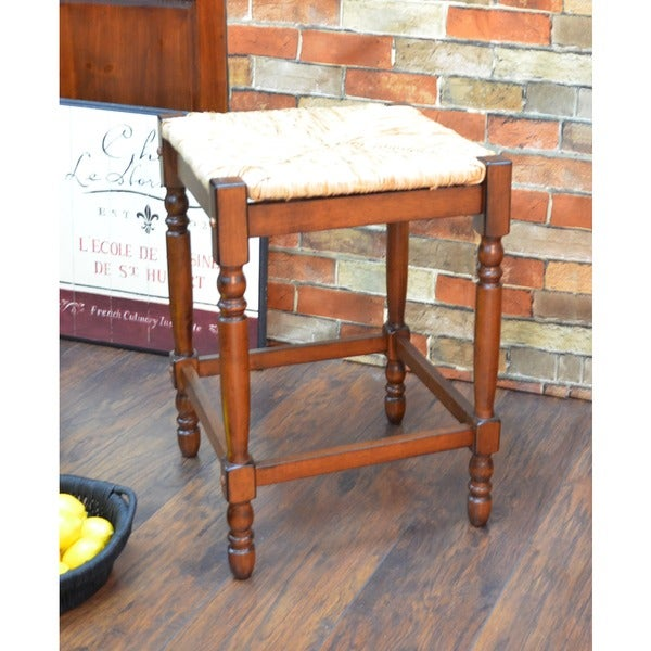 24 Inch Chestnut Morgan Counter Stool Free Shipping