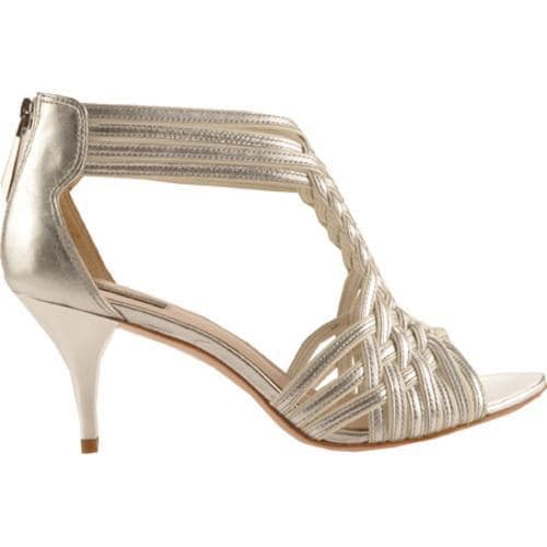 Women's Joan & David Indee Silver/White Leather