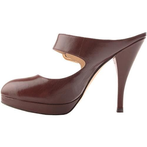 Women's Joan & David Jari Dark Brown Leather - Thumbnail 2