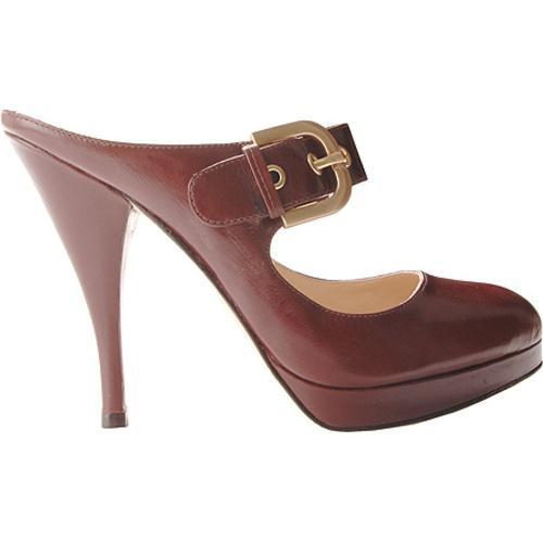 Women's Joan & David Jari Dark Brown Leather - Thumbnail 1