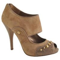 Women's Joan & David Ovena Medium Brown Suede