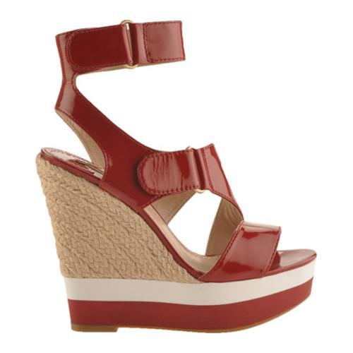 Women's Joan & David Sundia Red Patent Leather - Thumbnail 1