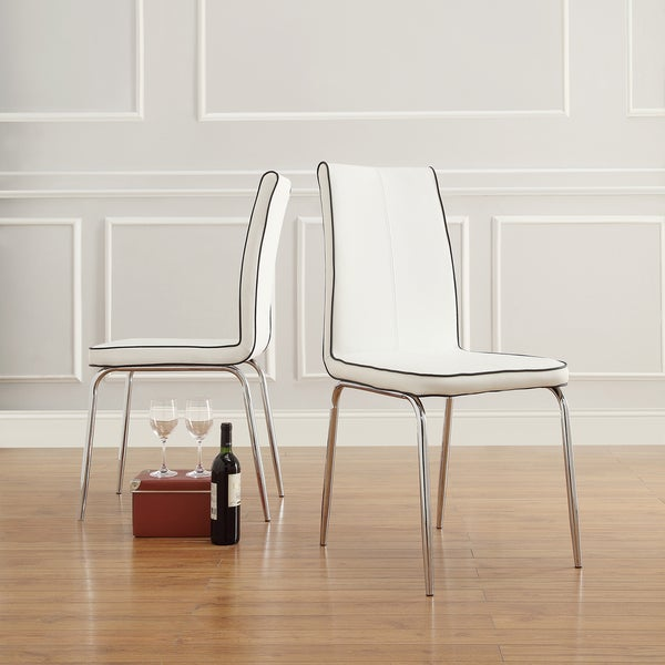 MID-CENTURY LIVING Matilda Retro Modern Dining Chair (Set of 2)