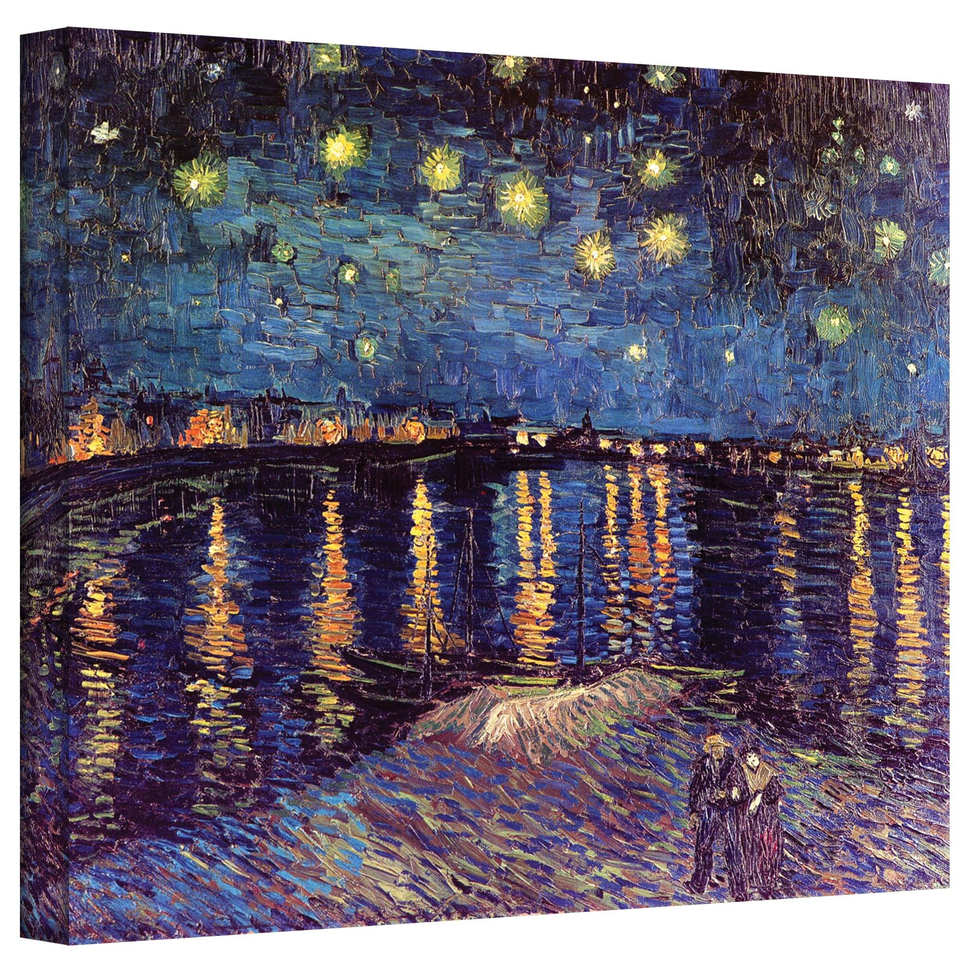 VanGogh 'Starry Night Under the Rhone' Canvas