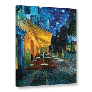VanGogh 'Cafe Terrace at Night' Wrapped Canvas