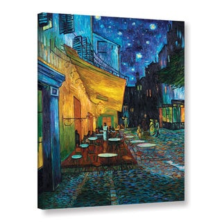 van Gogh 'Cafe Terrace at Night' Wrapped Canvas
