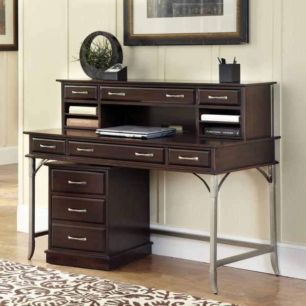 Bordeaux Executive Desk/ Hutch/ Mobile File