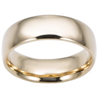 Link to 14k Yellow Gold Comfort Fit Wedding Band (6-mm) Similar Items in Men's Jewelry