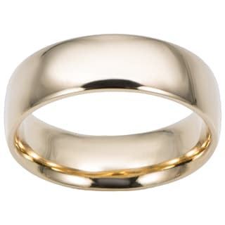 Fremada 14k Yellow Gold 6-mm Comfort Fit Wedding Band