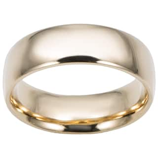 Fremada 14k Yellow Gold 6-mm Comfort Fit Wedding Band|https://ak1.ostkcdn.com/images/products/7295933/P14769107.jpg?impolicy=medium