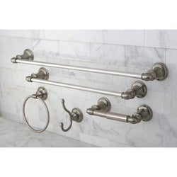 Provence Satin Nickel 5-piece Bathroom Accessory Set