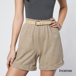 American Apparel Women's Military Cuff Shorts