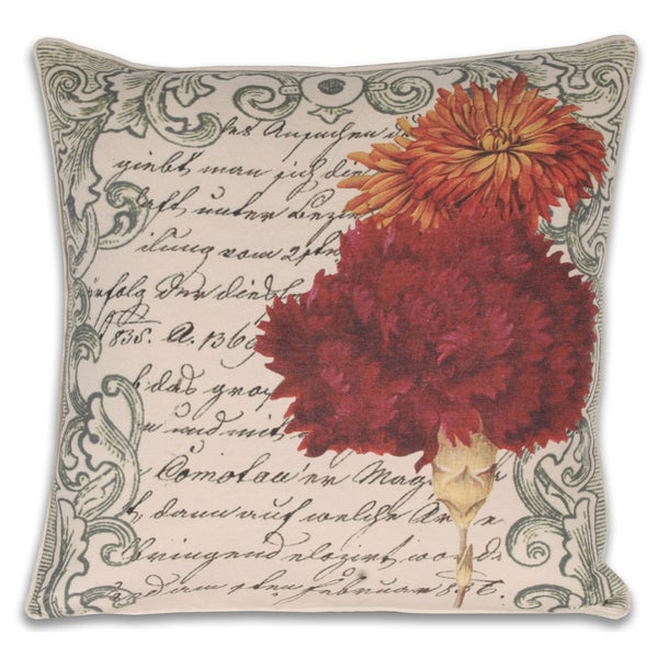 French Mum Postcard Pillow