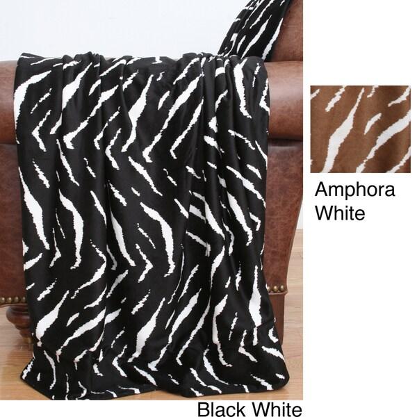 Kesi Zebra Microplush Throw
