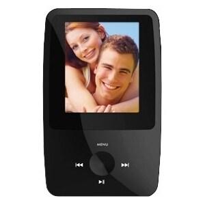 Ematic eSport Clip EMS008BL 8 GB Black Flash Portable Media Player