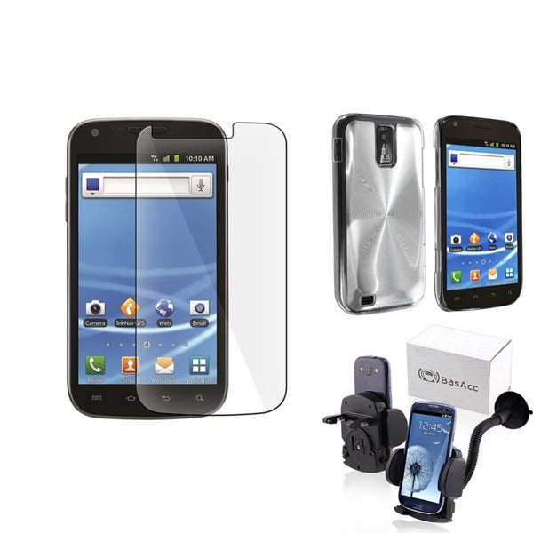 INSTEN Case Cover/ LCD Protector/ Mount for Samsung Galaxy S II/ S2 T989