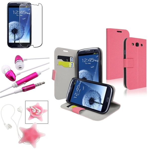 BasAcc Case/ Protector/ Headset/ Wrap for Samsung Galaxy S III/ S3