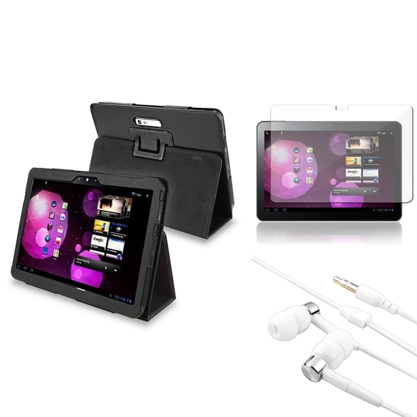 BasAcc Case/ Screen Protector/ Headset for Samsung© Galaxy Tab 10.1V