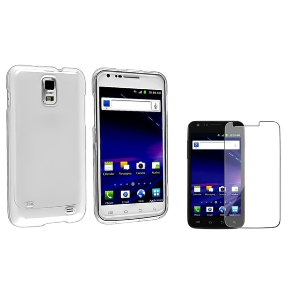 INSTEN Phone Case Cover/ LCD Protector for Samsung Skyrocket i727/ Galaxy S2/ S II