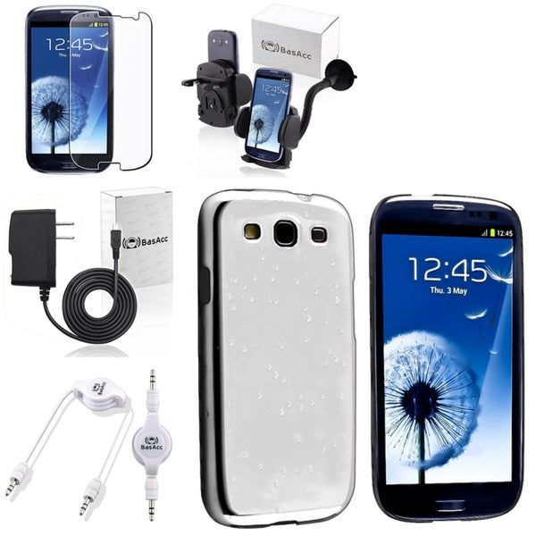 BasAcc Case/ Protector/ Mount/ Charger for Samsung Galaxy S III/ S3