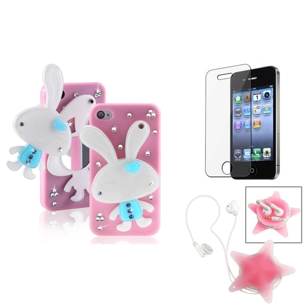 BasAcc Rabbit Mirror Case/ Protector/ Wrap for Apple iPhone 4/ 4S
