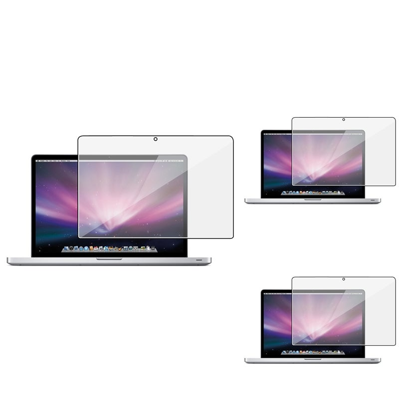 INSTEN Clear Screen Protector for Apple MacBook Pro 15-inch (Pack of 3)