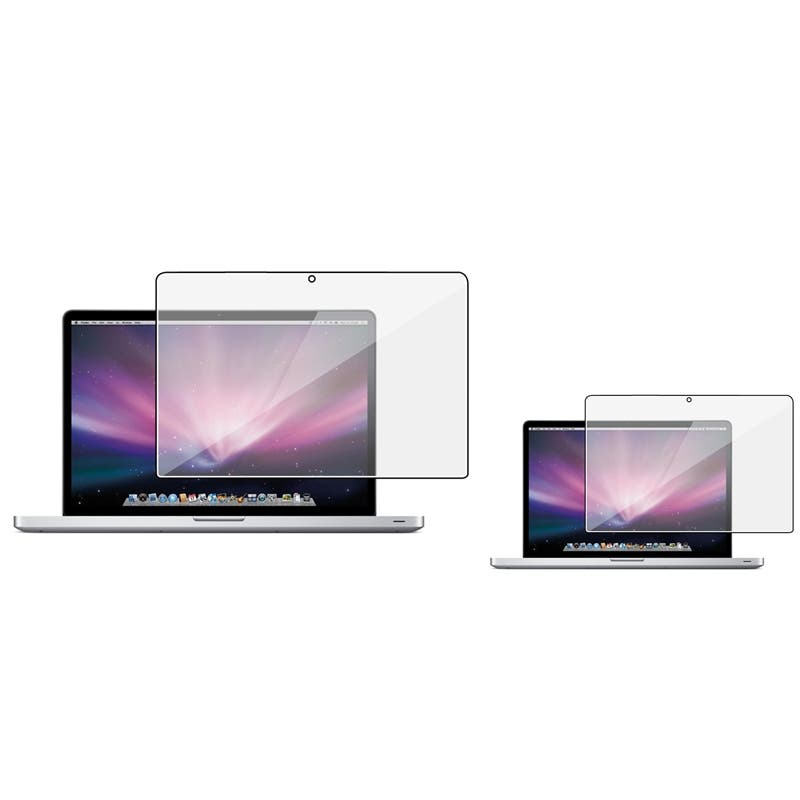 INSTEN Clear Screen Protector for Apple MacBook Pro 15-inch (Pack of 2)|https://ak1.ostkcdn.com/images/products/7296473/80/668/BasAcc-Screen-Protector-for-Apple-MacBook-Pro-15-inch-Pack-of-2-P14769548.jpg?impolicy=medium