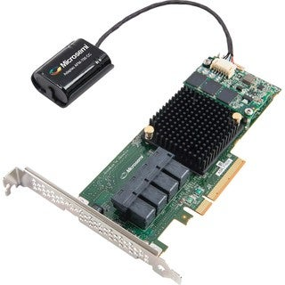 Microsemi Adaptec 71605Q 16-Ports SAS/SATA RAID Controller